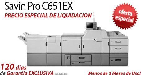 Comprar una Savin Pro C651EX