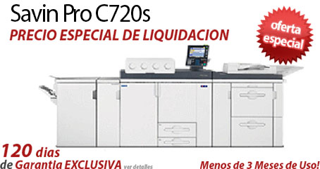 Comprar una Savin Pro C720s