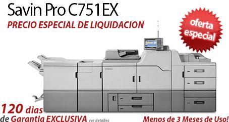 Comprar una Savin Pro C751EX