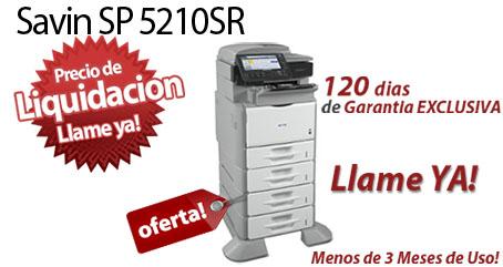 Comprar una Savin SP 5210SR