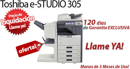 Comprar una Toshiba e-STUDIO305