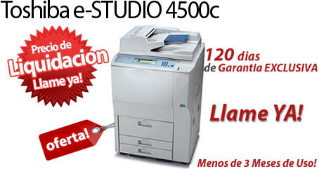 Comprar una Toshiba e-STUDIO4500c