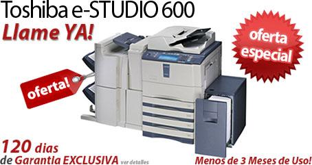 Comprar una Toshiba e-STUDIO600