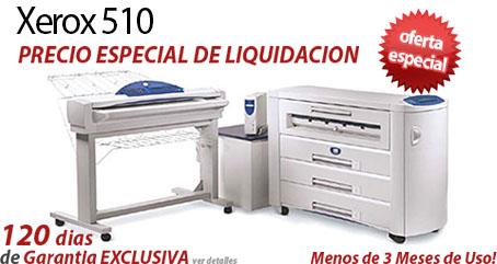 Comprar una Xerox 510 Wide Format Print System
