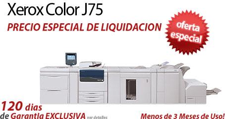Comprar una Xerox Color J75 Press