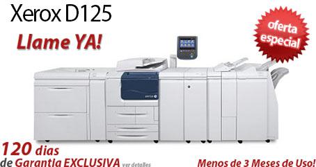 Comprar una Xerox D125