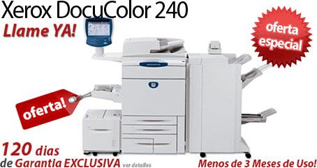 Comprar una Xerox DocuColor 240