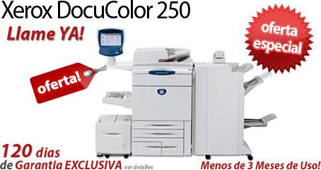 Comprar una Xerox DocuColor 250