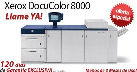 Comprar una Xerox DocuColor 8000
