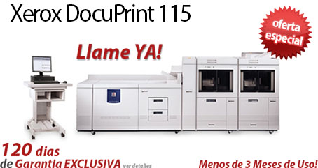 Comprar una Xerox DocuPrint 115 EPS