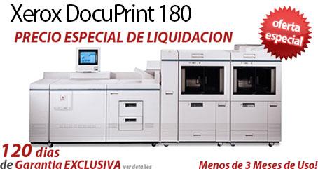 Comprar una Xerox DocuPrint 180