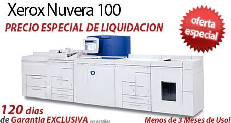 Comprar una Xerox Nuvera 100 EA