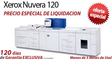 Comprar una Xerox Nuvera 120 EA