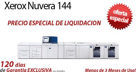 Comprar una Xerox Nuvera 144 EA