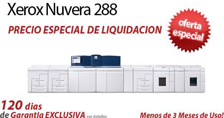 Comprar una Xerox Nuvera 288 EA