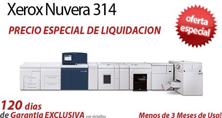 Comprar una Xerox Nuvera 314 EA