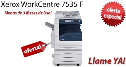 Comprar una Xerox WorkCentre 7535 F