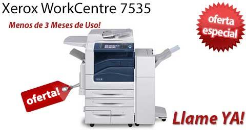 Comprar una Xerox WorkCentre 7535