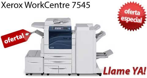 Comprar una Xerox WorkCentre 7545