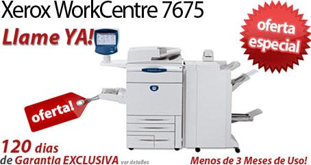 Comprar una Xerox WorkCentre 7675