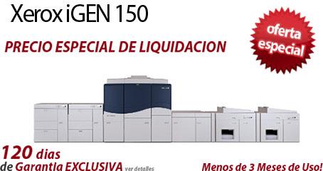 Comprar una Xerox iGen 150 Press