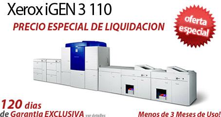 Comprar una Xerox iGen3 110