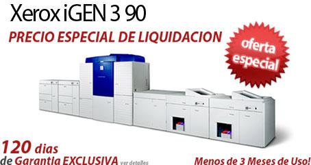 Comprar una Xerox iGen3 90