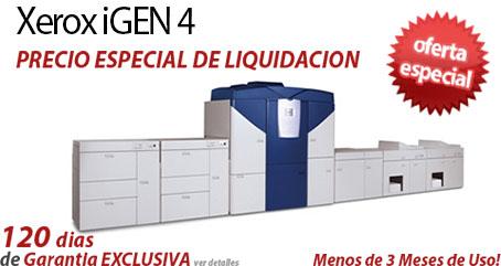 Comprar una Xerox iGen4 Press