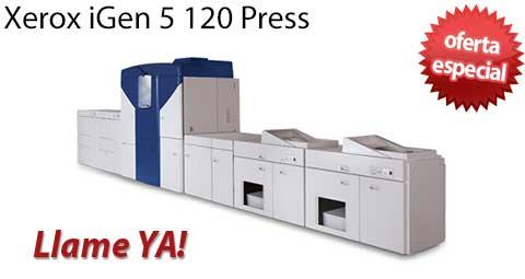 Comprar una Xerox iGen 5 120 Press