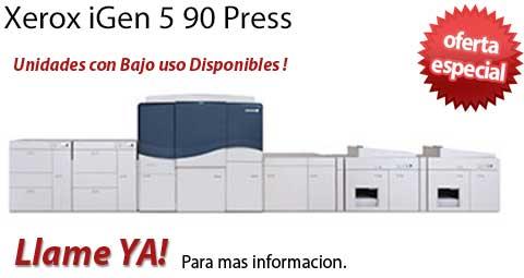 Comprar una Xerox iGen 5 90 Press