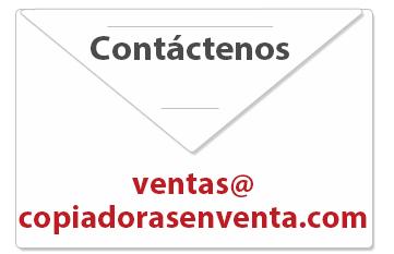 Contactenos Copiadoras en Venta