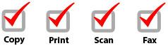 Compre usada Xerox WorkCentre 7545 precio