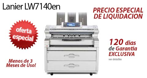 Comprar una Lanier LW7140en
