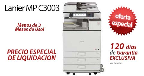 Comprar una Lanier MP C3003