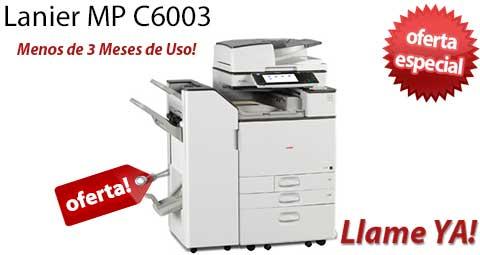 Comprar una Lanier MP C6003