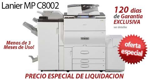 Comprar una Lanier MP C8002