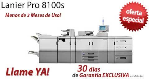 Comprar una Lanier Pro 8100s