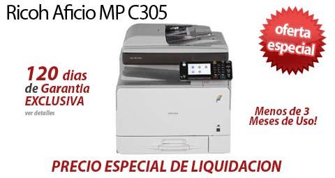 Comprar una Ricoh Aficio MP C305