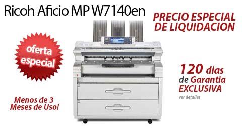 Comprar una Ricoh Aficio MP W7140en