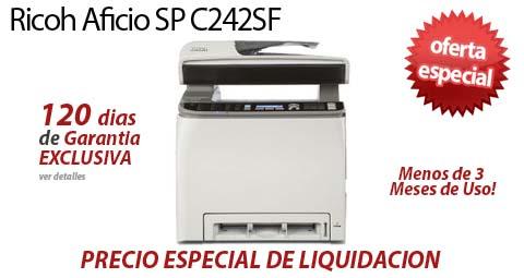 Comprar una Ricoh Aficio SP C242SF