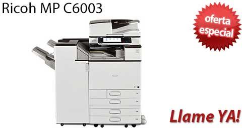 Comprar una Ricoh MP C6003