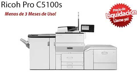 Comprar una Ricoh Pro C5100s
