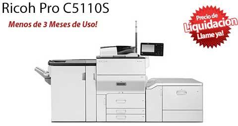 Comprar una Ricoh Pro C5110s