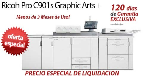 Comprar una Ricoh Pro C901s Graphic Arts +