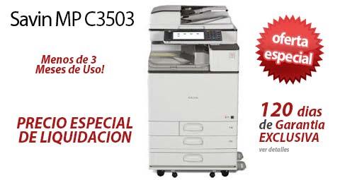 Comprar una Savin MP C3503