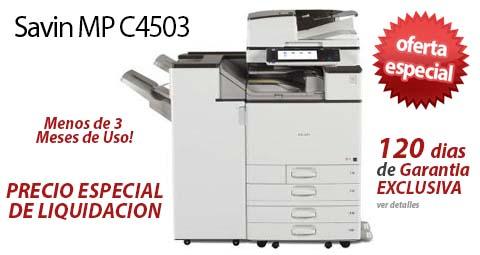 Comprar una Savin MP C4503