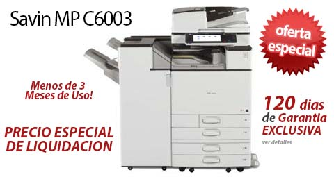 Comprar una Savin MP C6003