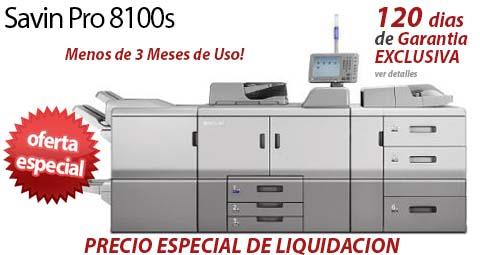 Comprar una Savin Pro 8100s