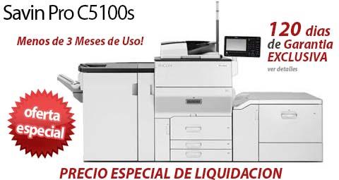 Comprar una Savin Pro C5100s