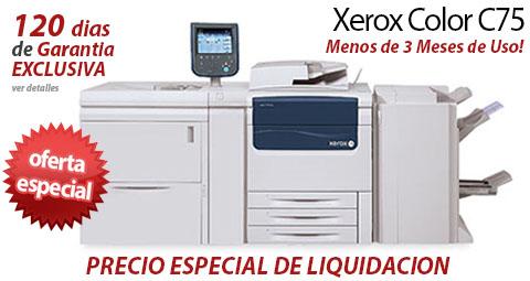 Comprar una Xerox C75